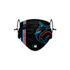 Miami Marlins MLB On-Field Adjustable Black Face Cover