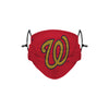 Washington Nationals MLB Gold Logo Adjustable Face Cover