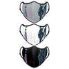 Miami Marlins MLB Sport 3 Pack Face Cover