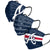 Atlanta Braves MLB Mens Matchday 3 Pack Face Cover