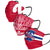 Philadelphia Phillies MLB Mens Matchday 3 Pack Face Cover