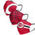 Cincinnati Reds MLB Mens Matchday 3 Pack Face Cover