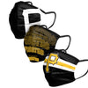 Pittsburgh Pirates MLB Mens Matchday 3 Pack Face Cover