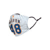 New York Mets MLB Jacob deGrom Adjustable Face Cover