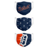 Detroit Tigers MLB 3 Pack Face Cover