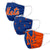 New York Mets MLB 3 Pack Face Cover