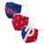 Philadelphia Phillies MLB 3 Pack Face Cover (PREORDER - SHIPS IN JULY)