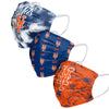 New York Mets MLB Womens Matchday 3 Pack Face Cover