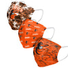 Baltimore Orioles MLB Womens Matchday 3 Pack Face Cover