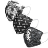 Chicago White Sox MLB Womens Matchday 3 Pack Face Cover