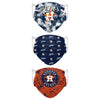 Houston Astros MLB Womens Matchday 3 Pack Face Cover