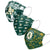 Oakland Athletics MLB Womens Matchday 3 Pack Face Cover