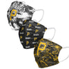 Pittsburgh Pirates MLB Womens Matchday 3 Pack Face Cover