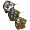 San Diego Padres MLB Womens Matchday 3 Pack Face Cover