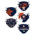 Houston Astros MLB Youth Rising Stars Adjustable 5 Pack Face Cover