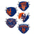 New York Mets MLB Youth Rising Stars Adjustable 5 Pack Face Cover