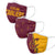 Cleveland Cavaliers NBA 3 Pack Face Cover