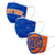 New York Knicks NBA 3 Pack Face Cover
