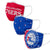 Philadelphia 76ers NBA 3 Pack Face Cover