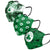 Boston Celtics NBA Womens Matchday 3 Pack Face Cover