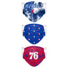 Philadelphia 76ers NBA Womens Matchday 3 Pack Face Cover
