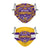 LSU Tigers NCAA 2019 Football National Champions Adjustable 2 Pack Face Cover