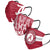 Alabama Crimson Tide NCAA Mens Matchday 3 Pack Face Cover