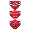 Louisiana Ragin' Cajuns NCAA 3 Pack Matchday Face Cover