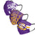 LSU Tigers NCAA Mens Matchday 3 Pack Face Cover