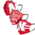 Nebraska Cornhuskers NCAA Mens Matchday 3 Pack Face Cover