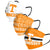 Tennessee Volunteers NCAA Mens Matchday 3 Pack Face Cover