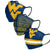 West Virginia Mountaineers NCAA Mens Matchday 3 Pack Face Cover