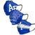 Air Force Falcons NCAA Mens Matchday 3 Pack Face Cover