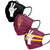Arizona State Sun Devils NCAA Mens Matchday 3 Pack Face Cover