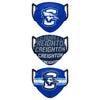 Creighton Bluejays NCAA Mens Matchday 3 Pack Face Cover