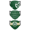 Colorado State Rams NCAA Mens Matchday 3 Pack Face Cover