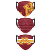 Minnesota Golden Gophers NCAA Mens Matchday 3 Pack Face Cover