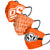 Oklahoma State Cowboys NCAA Mens Matchday 3 Pack Face Cover