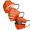 Oregon State Beavers NCAA Mens Matchday 3 Pack Face Cover
