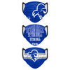 Seton Hall Pirates NCAA Mens Matchday 3 Pack Face Cover