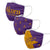 Alcorn State Braves NCAA 3 Pack Face Cover