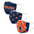 Auburn Tigers NCAA 3 Pack Face Cover