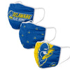 Delaware Fightin Blue Hens NCAA 3 Pack Face Cover