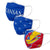Kansas Jayhawks NCAA 3 Pack Face Cover