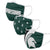 Michigan State Spartans NCAA 3 Pack Face Cover