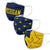 Michigan Wolverines Team NCAA 3 Pack Face Cover