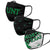 North Texas Mean Green NCAA 3 Pack Face Cover