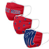 Ole Miss Rebels NCAA 3 Pack Face Cover