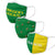 Oregon Ducks NCAA 3 Pack Face Cover