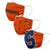 Syracuse Orange NCAA 3 Pack Face Cover